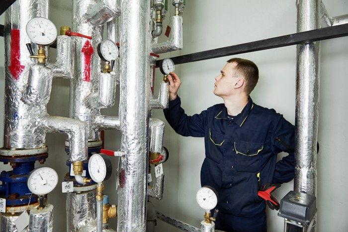 gas pipe maintenance