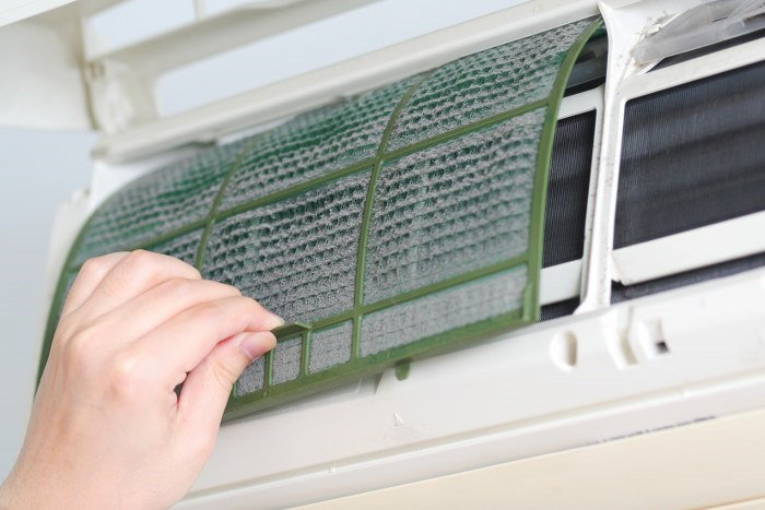 check the HVAC